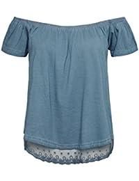 2c6606eeee8e Suchergebnis auf Amazon.de für  rock - Blau   Tops   Shirts   Damen   Bekleidung