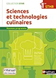 Sciences et technologies culinaires 1re STHR