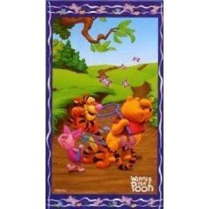 Disney-Winnie-lOurson-Serviette-de-plage-100-coton-Enfant-75-x-150-cm-Voir-limage
