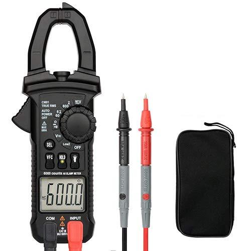 Digital Clamp Meter AC DC Multimeter Strom Und Spannung Voltmeter Passt Automatisch Elektrische Tester Variable Frequenz Spannungsmessung