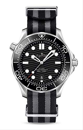 PLKNVT Luxusmarke Neue Männer Automatische Mechanische Uhr Silber Schwarz Blau Grau Leinwand Keramik Kristall Saphir Sport5
