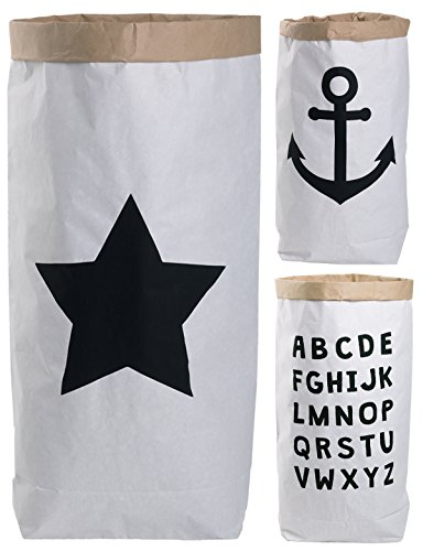 Lifestyle Lover Saco Papel Paper Bag Redondo Papel