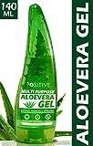 POSITIVE Multipurpose Pure Aloe vera Gel for Skin & Hair | Moisturise, Soothes