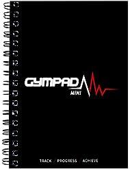 GymPad Mini entrenamiento diario–la pequeña manera elegante de seguir tus ejercicios, negro, A6