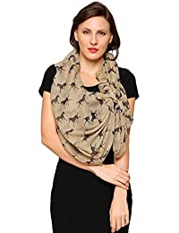 World of Shawls Horse Print Design Ladies Girls Scarf Scarves Shawl Wrap Maxi Sarong