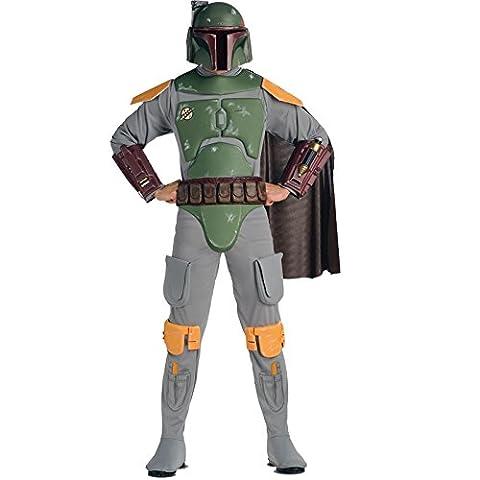 Rubies Deutschland 3 888574 STD - Deluxe Boba Fett Größe 48-54 (Wookie Jedi Kostüm)