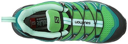 Salomon  X Ultra 2, Chaussures de randonnée à tige basse femme Vert - Green (Wasabi/Peacock Blue/Igloo Blue)