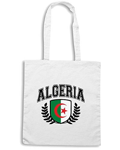 T-Shirtshock - Borsa Shopping WC0003 ALGERIE ALGERIA Bianco