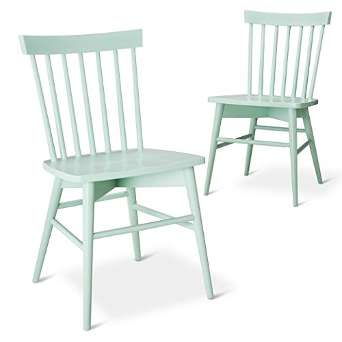 Aprodz Arthur 2 Set Dining Chair-Turquoise