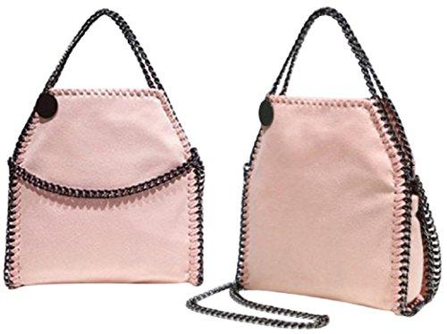 getthatbag-damen-schultertasche-rosa-rose
