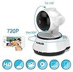 YAOJIN W4 720p HD WiFi Wireless IP Security Camera CCTV [Ivory White]