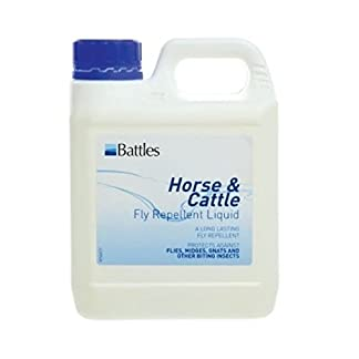 Battles horse & cattle fly repellent liquid - 1 litre 12