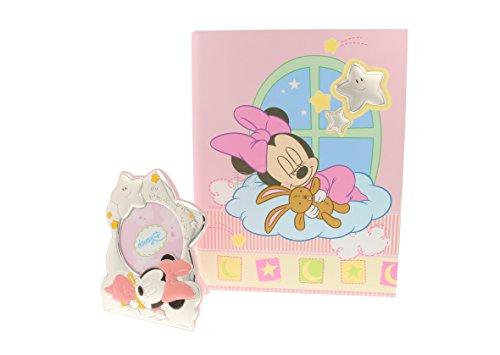Disney Baby Set Album et Cadre Photo en argent (Petite Fille) - Art : wb0253/R