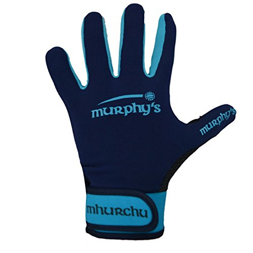 Murphy's Gälische Sprache Handschuhe-Youth, Marineblau/Blau - Blau Fußball-handschuhe Youth