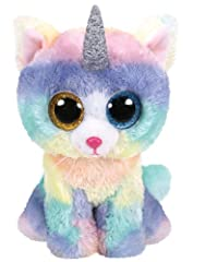 Idea Regalo - Ty- Beanie Boos Heather 15 CM, Multicolore, 1607-36250