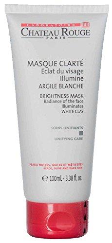 CHATEAU ROUGE Masque éclaircissant visage à l'argile - Peaux noires et métisses - 150 ml