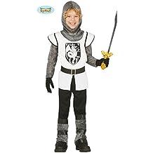 Disfraz de Caballero Medieval Blanco para niño - 3-4 años