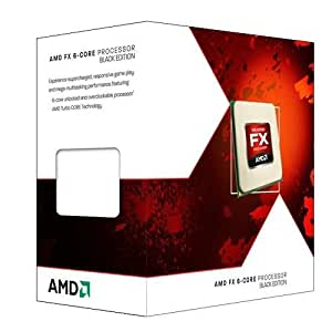 AMD AM3+ FX-6100 Box Processore, Nero