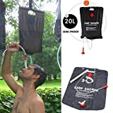 Best Solar Showers - SLB Works Brand New 20 L/5Gallon Water Bag Review