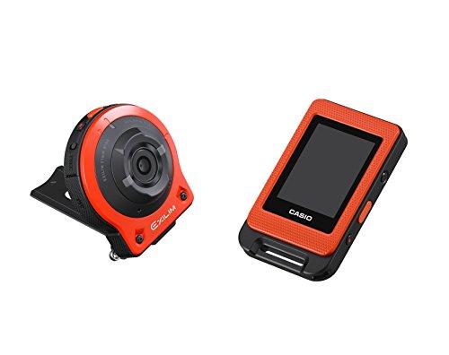 CASIO digital camera EXILIM EXFR10EO camera unit / controller separation freestyle 14.1 million pixel camera EX-FR10EO Orange