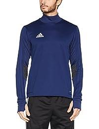 adidas Tiro17 Trg Camiseta, Hombre, Azul (Azuosc / Griosc / Blanco), XS