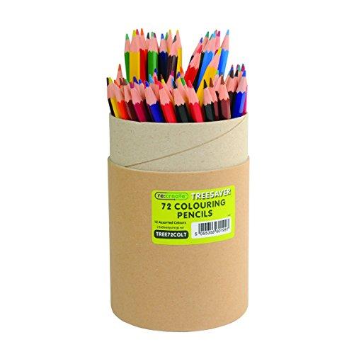 Re: Erstellen tree72colt Recycling Buntstifte, verschiedene Farben (72Stück)