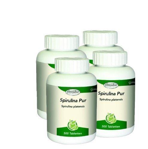 Spirulina Pur 4 x 500 Tabletten
