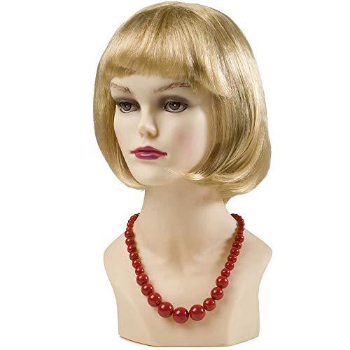 Widmann 1734R - Perlen Halskette rot (Ideen Für Dress Billig Halloween Fancy)