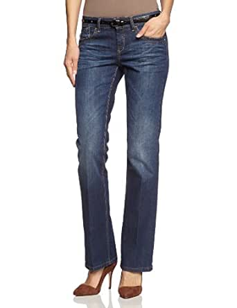 MEXX Jeans Evasé Femme - Bleu - Blau (474) - FR : W27 (Taille Fabricant: 27)