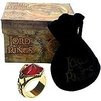 El Señor de los Anillos - Anillo de GANDALF 17mm - Lord of The Rings Replica Oficial Medioevo