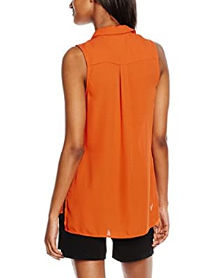 New Look Women's Concealed Placket Blouse