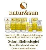 Crema Solare Media Protezione SPF 20 natur&sun Bema Cosmetici