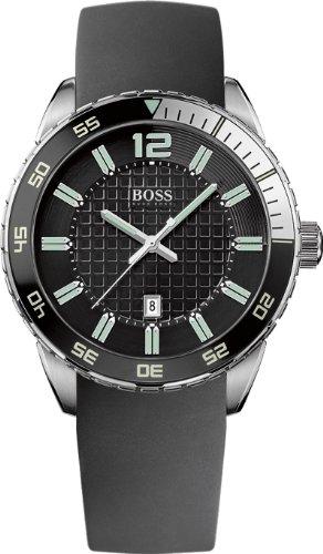 Hugo Boss Herren-Armbanduhr Analog Quarz Silikon 1512885