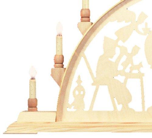 Candle Arch - minero con el escudo de armas - 78cm x 42cm / 31 x 17 pulgadas - Seidel