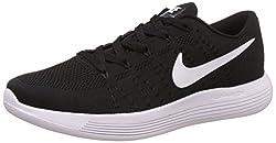 Nike Mens Lunarglide 8 Black Running Shoes - 10 UK/India (45 EU)(11 US)(843765-100)