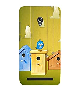 Bird House 3D Hard Polycarbonate Designer Back Case Cover for Asus Zenfone 6 A600CG