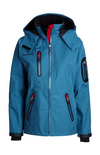 Hummel Damen 3 Layer Jacket oriental blue