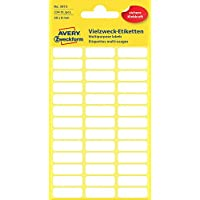 Avery 3073 étiquette auto-collante - étiquettes auto-collantes (Blanc, Papier)