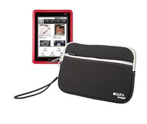 Étui léger noir pour Pocketbook Pro 602, IQ 701, 360° avec poignée - Housse