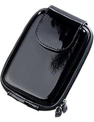 DigiEtui A69041BKSA Housse vernie pour Appareil Photo Samsung Série WB Noir