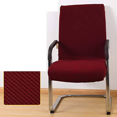 Sishe Stuhl Silpcover Stuhlabdeckungen für Bürocomputer Chefsesselüberzüge Armlehnensitzüberzüge Stoffhocker Einteilige Spandexstuhlüberzüge-B by (Farbe : B)