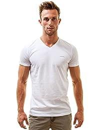 """Diesel """"Michael Classic T-Shirt à col V Shirt"""", Noir (Style No CG26)"""