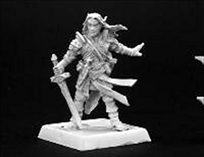 Arael Half Elf Cleric Pathfinder Series Miniatures by Reaper