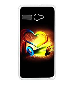 Lava Atom 2 Silicon Back Cover by instyler