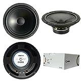CIARE HW210 HW 210 altoparlante diffusore medio basso woofer da 20,00 cm 200 mm 8' di diametro da 75 watt rms e 150 watt max impedenza 8 ohm per casa dj party auto sospensione in gomma