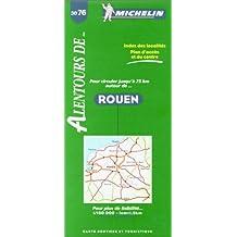 Carte routière : Alentours Rouen, 3076, 1/150000