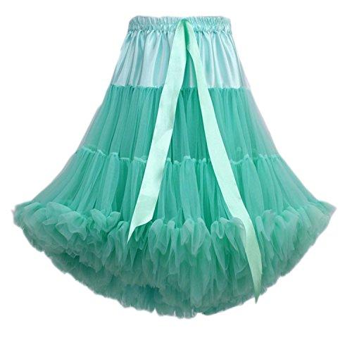 Kostüm Aller Verpackung Art - FOLOBE Frauen Tutu Kostüm Ballett Tanz Multi-Layer Puffy Rock Erwachsene luxuriöse weiche Petticoat