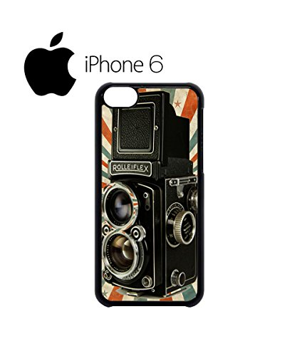 Retro Camera Photography Swag Mobile Phone Case Back Cover Hülle Weiß Schwarz for iPhone 6 White Schwarz