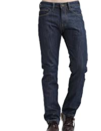 SSLR Jeans Homme Doublure Polaire Coupe Droite