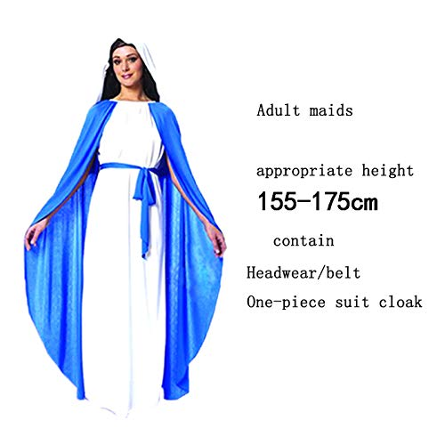 �m Halloween-Danksagung Ostern-Jahrestagung Erwachsener Kindgott Jesus Christus Jungfrau Maria Leistungskostüm ()